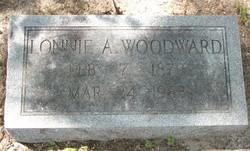 Lonnie A Woodward