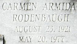 Carmen Armida <i>Rodenbaugh</i> Abraham