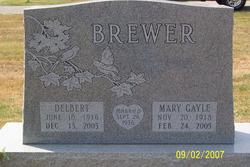 Mary Gayle <i>Walton</i> Brewer