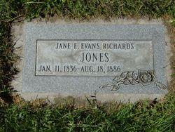 Jane E. <i>Evans</i> Jones