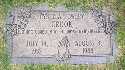 Cynthia Ann <i>Towery</i> Crook
