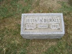 Julia Ann <i>Whiteley</i> Burall