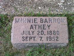 Minnie <i>Barron</i> Athey