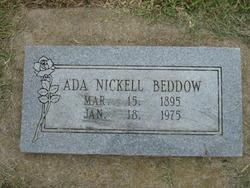 Ada <i>Nickell</i> Beddow