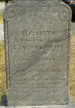 Sarah Elizabeth <i>Pentico</i> Willoughby