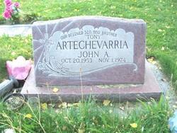 John A. Tony Artechevarria