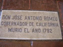 Don Jose Antonio Romeu