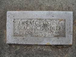 Emma Christina <i>Peach</i> Chandler