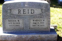 Warren Westley Reid