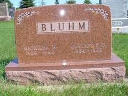 Mathilda M. Bluhm