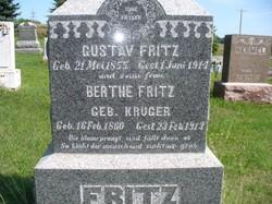 Berthe <i>Kruger</i> Fritz