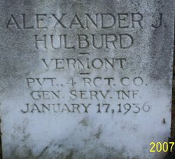 Alexander J Hulburd