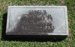 Georgia P. Callaway