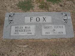 Helen Mar <i>Henders</i> Fox