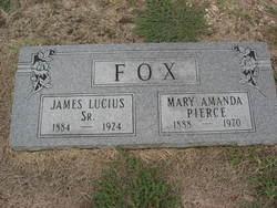 Mary Amanda <i>Pierce</i> Fox