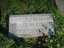 Harriet Zulma <i>Stateler</i> Brannon