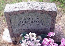 Nancy Marion <i>Banks</i> Anderson