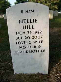 Nellie <i>Thomas</i> Hill
