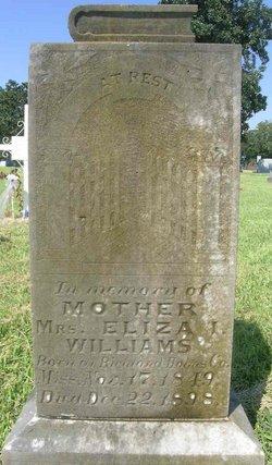 Eliza Louise <i>Taggart</i> Williams