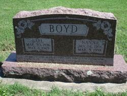 Nanna B <i>Miller</i> Boyd