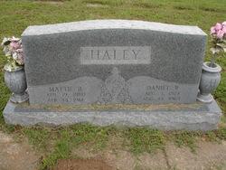Daniel Wesley Dan Haley