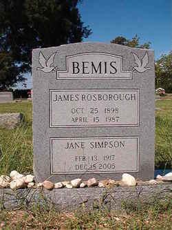 Jane <i>Simpson</i> Bemis