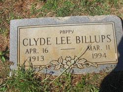 Clyde Lee Billups