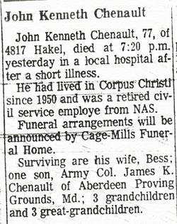 John Kenneth Chenault