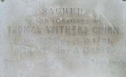 Thomas Withers T. W. Chinn