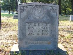 Carrie Elta <i>Blackerby</i> Henderson