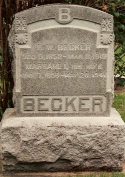 Margaret Barbara <i>Probst</i> Becker