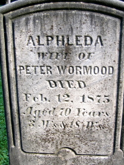 Alphleda <i>Janes</i> Wormood