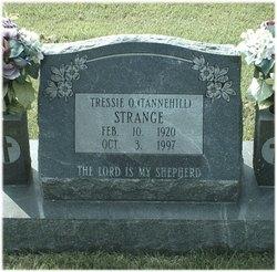 Tressie O. <i>Tannehill</i> Strange
