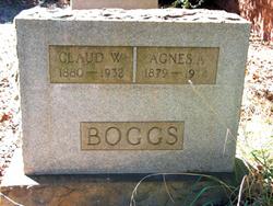 Claude W Boggs