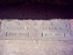 Frances Bell <i>Craig</i> Bales