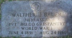 Walther J Bauer