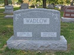 Addie May <i>Johnson</i> Wadlow