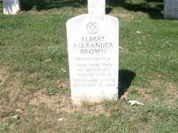 TEC 3 Albert Alexander Brown