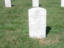 Corporal Valentine H Casey