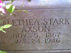Alethea Stark Axson