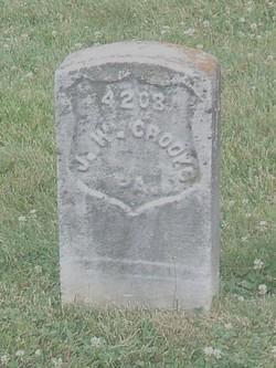 Pvt John W. Crooks