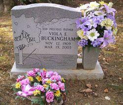 Viola E Buckingham
