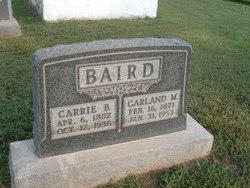 Carrie Bertha <i>Freeman</i> Baird