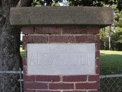 Sarah M. <i>Edwards</i> Alexander