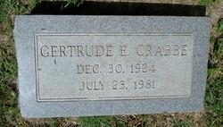 Gertrude E. Crabbe