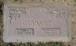 John Edgar Johnnie Gibbard