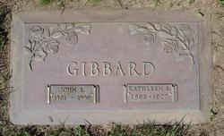 Kathleen Sarah Kathy <i>Freeman</i> Gibbard