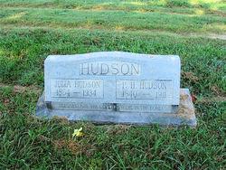Julia Adeline <i>Senter</i> Hudson