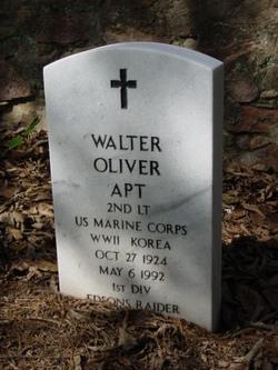 Walter Oliver Apt