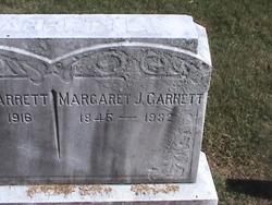 Margaret J Garrett